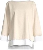 Lafayette 148 New York Duke Twofer Top
