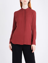 Theory Perfect Dolman silk-crepe de chine blouse