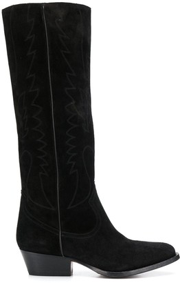 Buttero knee-length boots