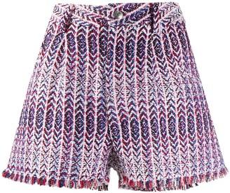 IRO Nonza weave shorts