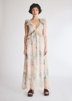 Farrow Women's Floral Maxi Dress in Floral, Size Large