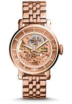 Fossil Original Boyfriend Automatic Rose-Tone Stainless Steel Watch