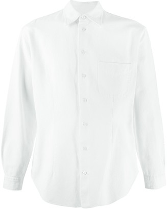 Giorgio Armani Pre-Owned '1990s pointed collar shirt