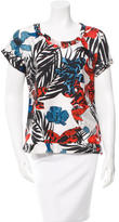 See by Chloe Silk Floral Blouse