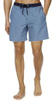 F&F Geo Print Mid Length Swim Shorts, Men's