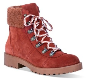 Dingo Women's Telluride Leather Lug Sole Boot Women's Shoes