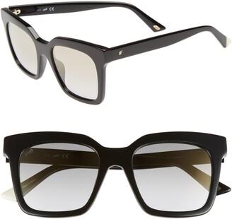 Web 49mm Sunglasses
