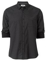 Jeanswest Magnus Long Sleeve Print Shirt-Black-S