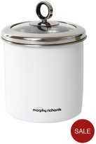 Morphy Richards Large Storage Canister - White
