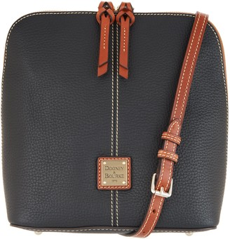 Dooney & Bourke Pebble Leather Large Crossbody - Trixie