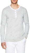 Slate & Stone Marled Cotton Long Sleeve Henley