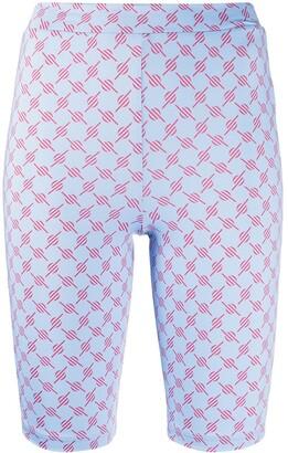 Daily Paper Geometric Print Stretch-Fit Shorts