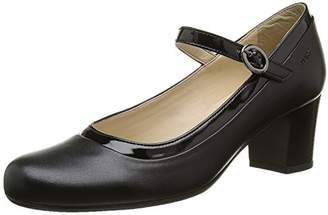 Marc Shoes Women's Leona Pumps, Black - Schwarz (Black 00129), 7 UK
