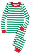 Hanna Andersson Toddler Organic Cotton Two-Piece Fitted Pajamas