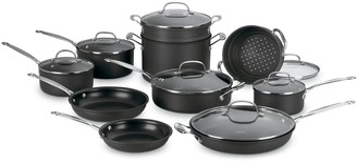 Cuisinart Chef's Classic 17-pc. Nonstick Hard-Anodized Cookware Set