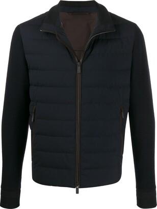 Ermenegildo Zegna knitted sleeve jacket