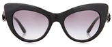Dolce & Gabbana Embellished cat-eye sunglasses