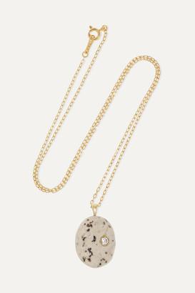 Cvc Stones Sale E Pepe 18-karat Gold, Stone And Diamond Necklace - one size