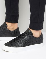 Nike Blazer Studio Low Premium Trainers Black 880872-001