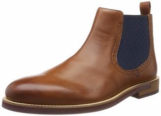 Ted Baker Men's SECAINL Chelsea Boots Brown Dk Tan 6 UK 40 EU