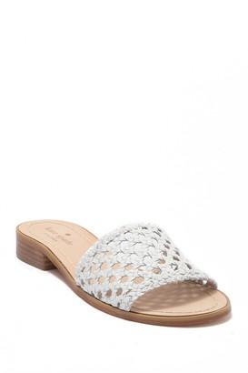 Kate Spade berlin woven leather sandal