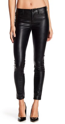 Blanknyc Denim Faux Leather Skinny Pants