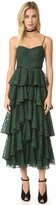 Cynthia Rowley Ruffle Lace Dress