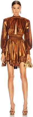 retrofete Melody Dress in Rust | FWRD