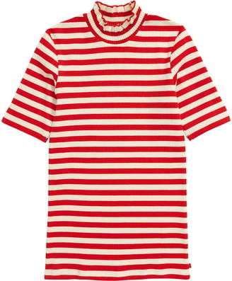 Scotch R'Belle Stripe High Neck Tee