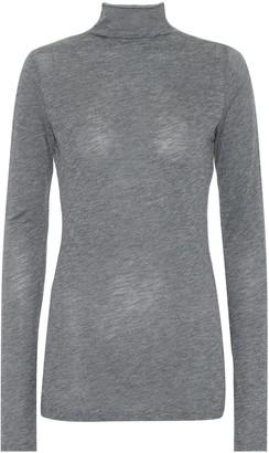 Velvet Talisia cotton-blend top