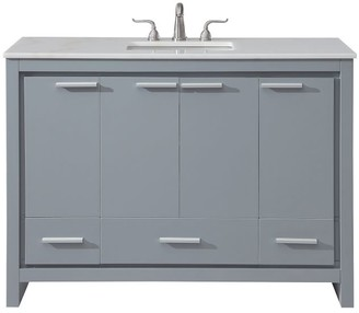 "Pottery Barn Evalyn 48"" Single Sink Vanity with Doors"