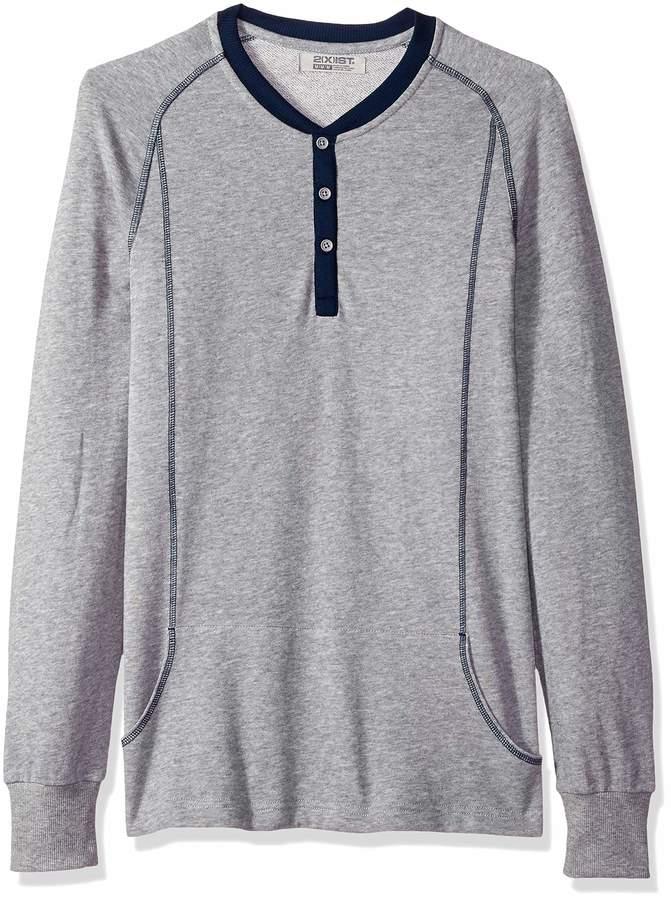 9982957a Long Sleeve Henley Shirt - ShopStyle Canada