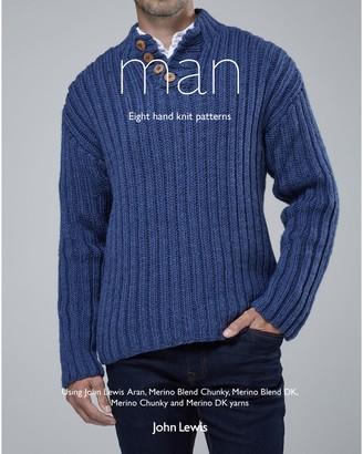 John Lewis & Partners Man Knitting Pattern Book