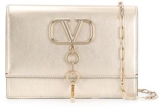 Valentino Garavani VCASE small metallic bag