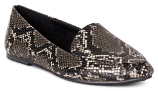 Time and Tru Women's Animal Print Feather Flat (Wide Width Available)