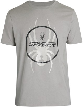 Spyder Skull Graphic T-Shirt