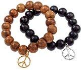 Wood Peace Bracelets