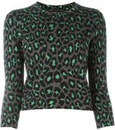 Marc by Marc Jacobs leopard knit sweater