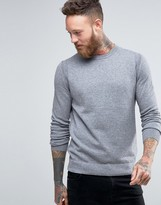 BOSS ORANGE By Hugo Boss Albinon Crew Sweater Merino Blend Knit