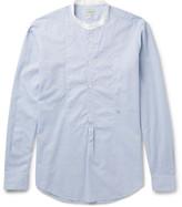 Massimo Alba Grandad-collar Cotton Shirt
