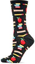 Hot Sox Back To School Printed Socks