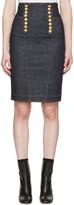 DSQUARED2 Blue Denim Livery Pencil Skirt