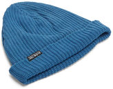 Story Mfg. Men's Cragsman Knitted Beanie Hat In Blue