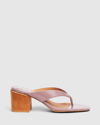 cherrichella - Women's Pink Open Toe Heels - Cedar Mules - Size One Size, 37 at The Iconic