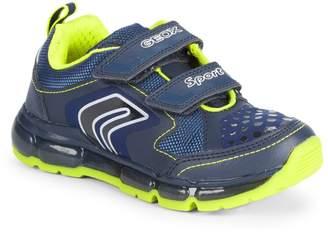 Geox Little Boy's & Boy's Grip-Tape Sneakers