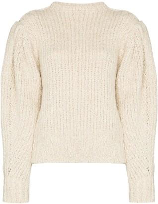 Isabel Marant Enora pouf-sleeve jumper