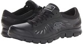 Skechers Eldred - Relaxed Fit (Black) Women's Shoes