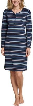 Schiesser Women's Sleepshirt 1/1 Arm 100cm Nightie