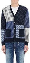 FDMTL Men's Sashiko Wool Cardigan