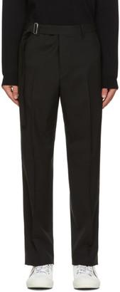 Valentino Black Wool Trousers